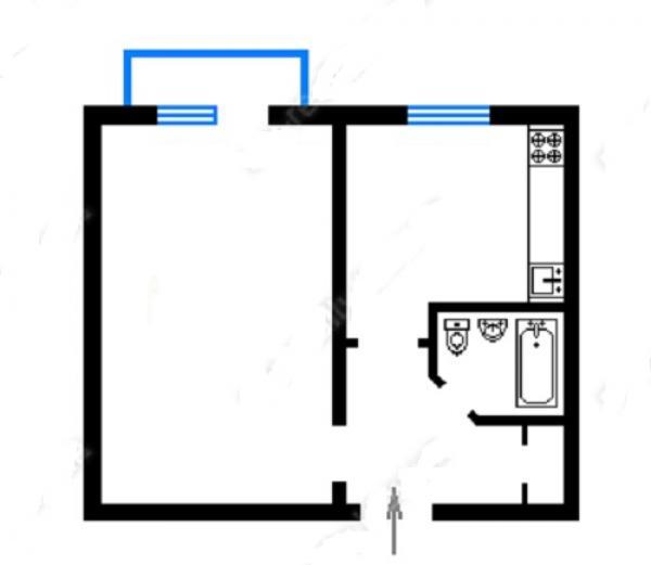 Купить квартиру в Днепровском районе в Киеве - фото № 7