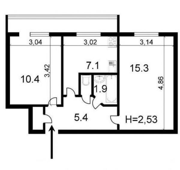 Купить квартиру в Оболонском районе в Киеве - фото № 12