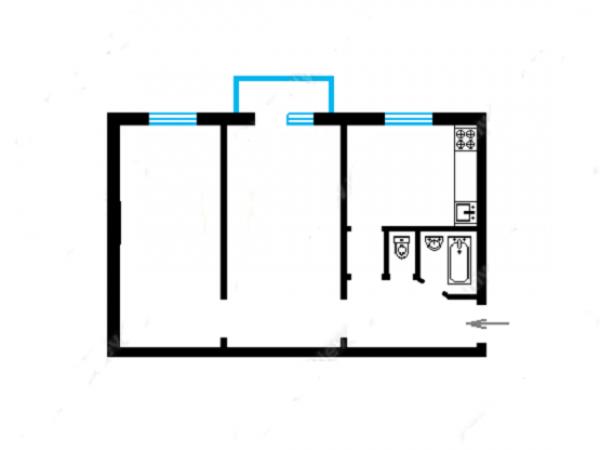 Купить двухкомнатную квартиру в Шевченковском районе в Киеве - фото № 7