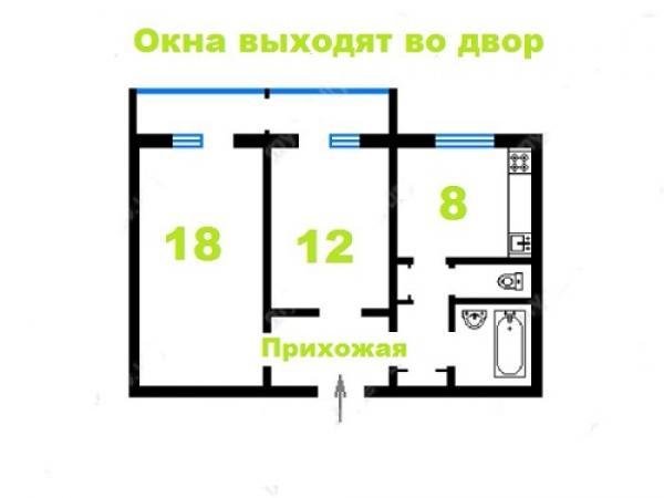 Купить квартиру возле метро Героев Днепра в Киеве - фото № 19